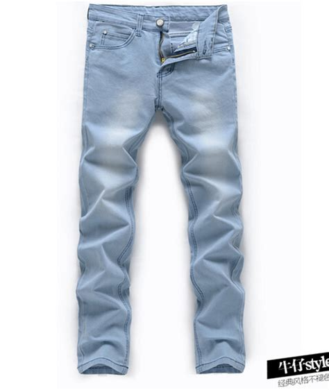 light blue slacks mens blue denim jeans for men www imgkid com the image kid