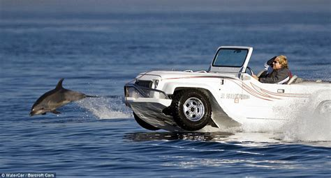driving boat in waves from car to boat in 15 seconds 155 000 panther car can