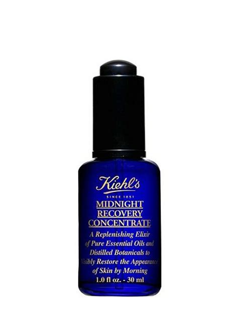 Kiehls Midnight Recovery Concentrate Mrc 4 Ml kiehls midnight recovery concentrate 30ml house of fraser