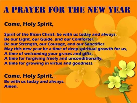 prayer for the new year happy new year pinterest