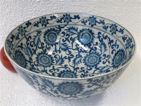blue and white porcelain chinese characters blue and white porcelain bowl 10 quot