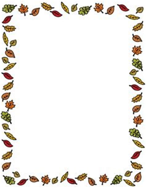 microsoft free fall clip art downloads | page border made