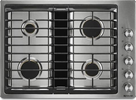 best gas cooktop 30 jgd3430gs jenn air 30 quot gas downdraft cooktop stainless