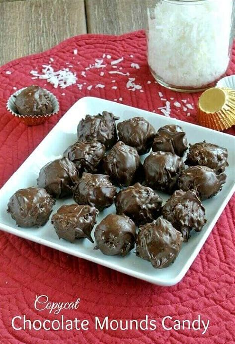 Chocolate Cabbie It Or It by Copycat Chocolate Mounds Recipe Bars