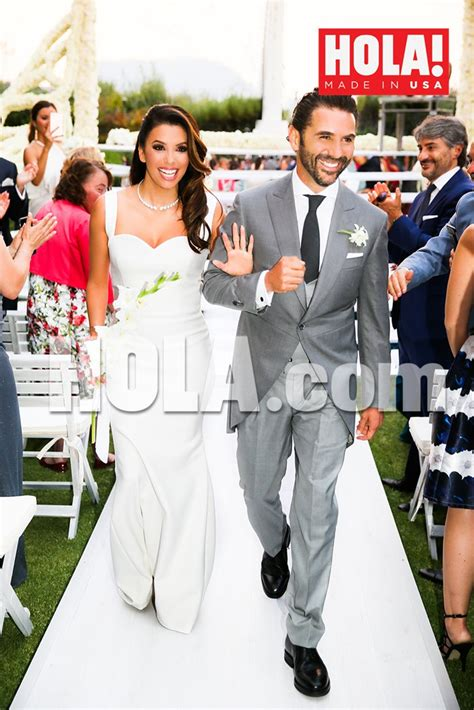 Longorias Wedding The Official Photos by Longoria Gets Married Chfi