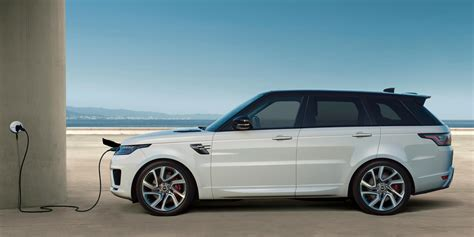 land rover electric the range rover sport plug in hybrid electric suv signals