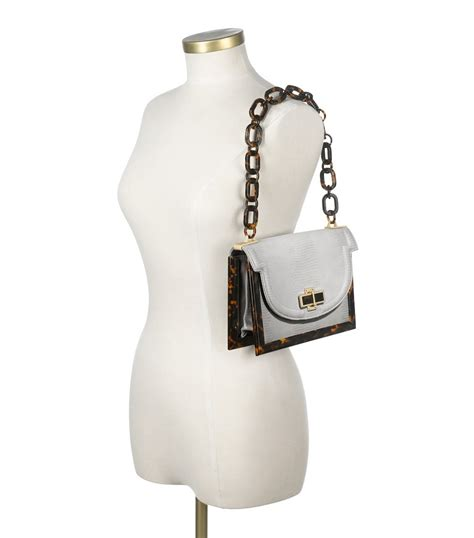 Burch Resin Purse by Burch Lizard Small Resin Frame Bag In White Lyst