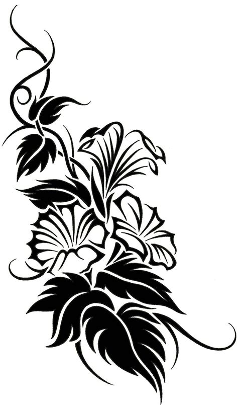 vine tattoo design tribal vine designs cool tattoos bonbaden