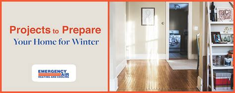 4 projects to prepare your home for winter