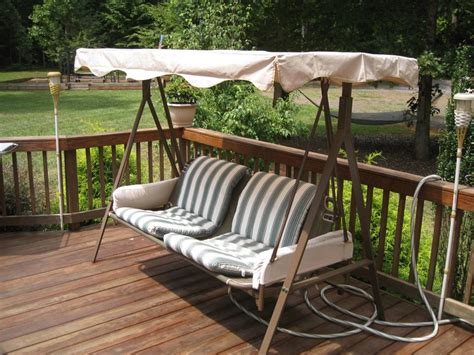 hanging patio swing hang a porch swing jbeedesigns outdoor find out best