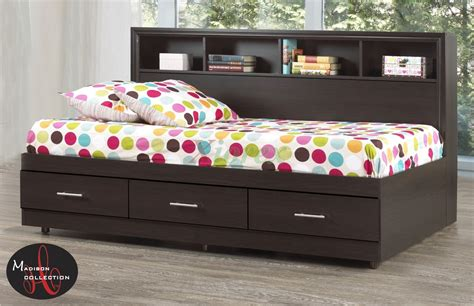 side bed side bookcase mates beds life line madison mates beds xiorex
