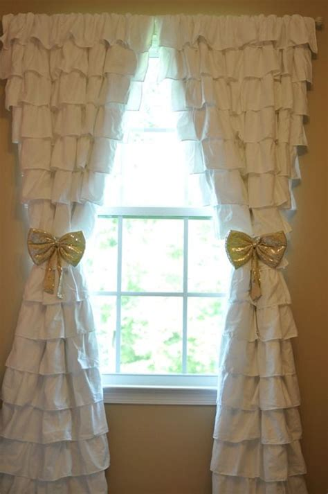 girl curtains and drapes 1000 ideas about ruffled curtains on pinterest country