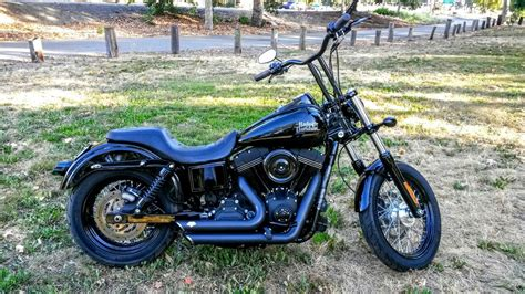 Harley Davidson West by Harley Davidso Dyna Streetbob Fxdb Blacked Out 103cubic