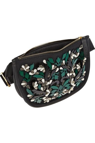 Marni Mesh Net Balloon Bag by Marni Embellished Mesh Belt Bag Net A Porter