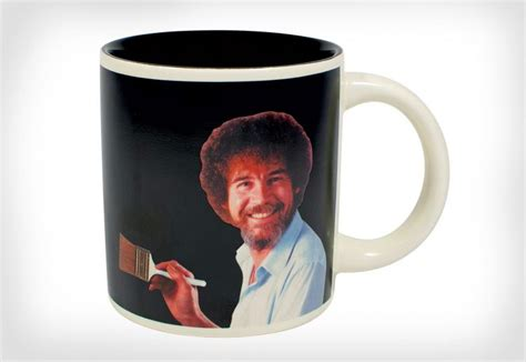 bob ross painting coffee mug bob ross heat changing mug makes a painting appear