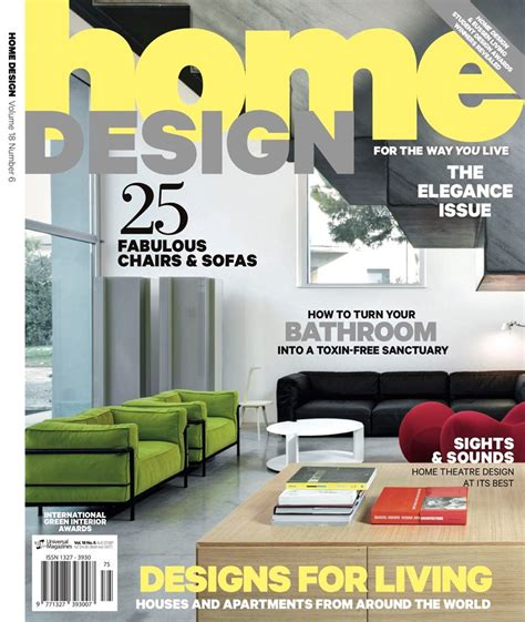 list of home design magazines home design magazine