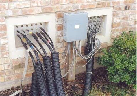 House With Tower k5mr coax distribution and remote switching