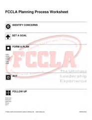 webertube fccla planning process pdf