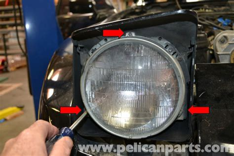 how to replace 1991 porsche 928 headlight replacement porsche 944 turbo headlight replacement 1986 1991 pelican parts diy maintenance article