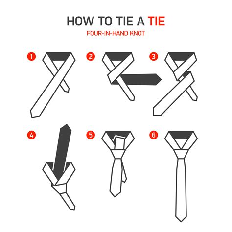 How To Tie A Square Knot Step By Step - 24 882 ways to tie your necktie