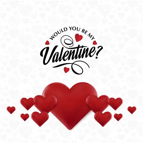 would you be my valentines would you be my valentines vector free