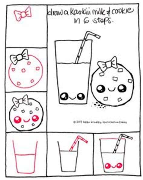 draw cute kawaii toast step by step | art learn to draw