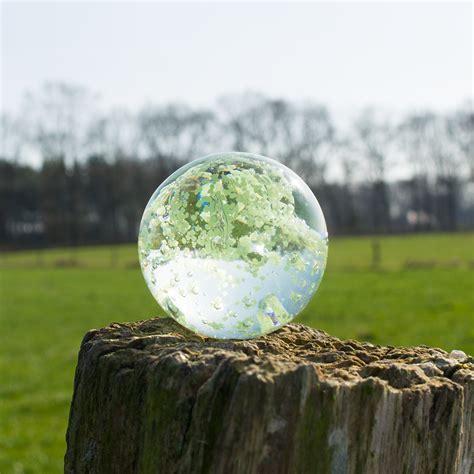 le glaskugel glaskugel 5 cm glow transparent zubeh 246 r ersatzteil f 252 r
