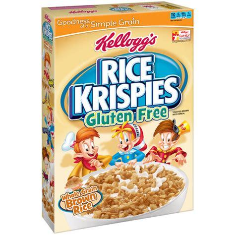 whole grain kellogg s cereal kellogg s rice krispies whole grain brown rice cereal 12