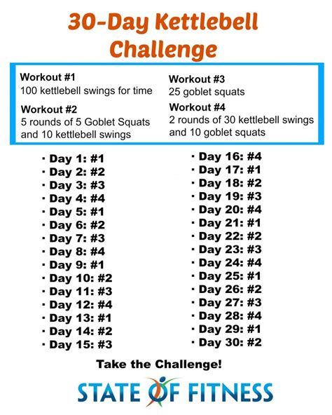 swing challenge 30 day kettlebell challenge state of fitness