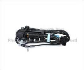 new oem trailer hitch wiring harness w parking aid ford f 150 2009 2011 ebay