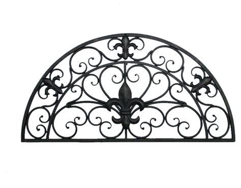 Tuscan Wrought Iron Wall