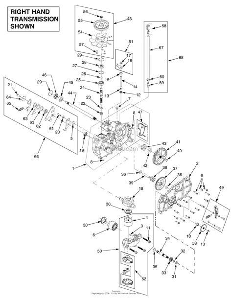 troy bilt 17aa5abp766 rzt 50 2006 parts diagram for
