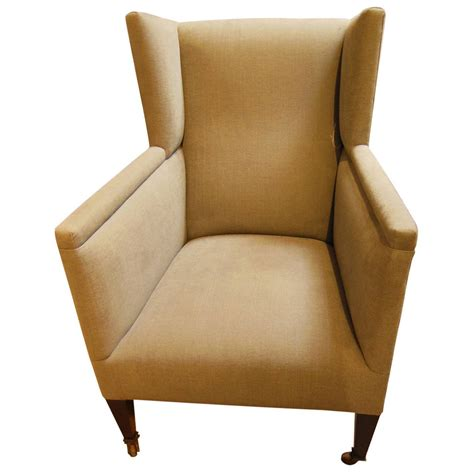 Small Modern Armchair Small Vintage Modern Wing Chair At 1stdibs