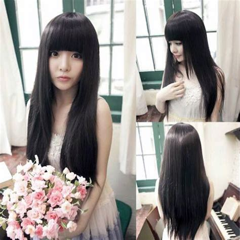 korean haircuts for long straight hair korean haircuts for long straight hair haircuts models ideas