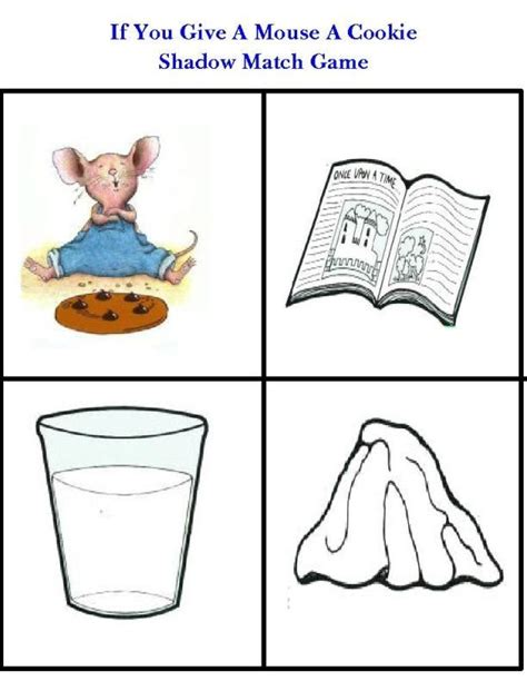 If You Give A Mouse A Cookie Free Printables