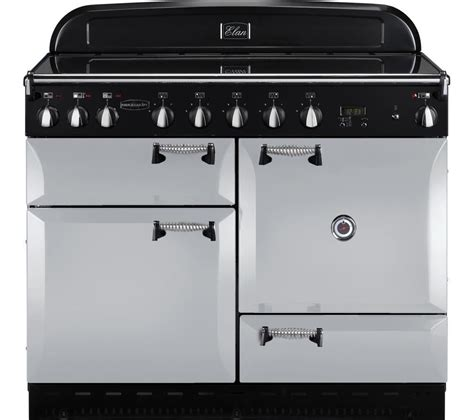 induction cooker rangemaster buy rangemaster elan 110 electric induction range cooker royal pearl free delivery currys