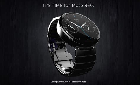 Smartwatch Moto 360 Motorola Unveils Moto 360 And It Is The Best Smartwatch
