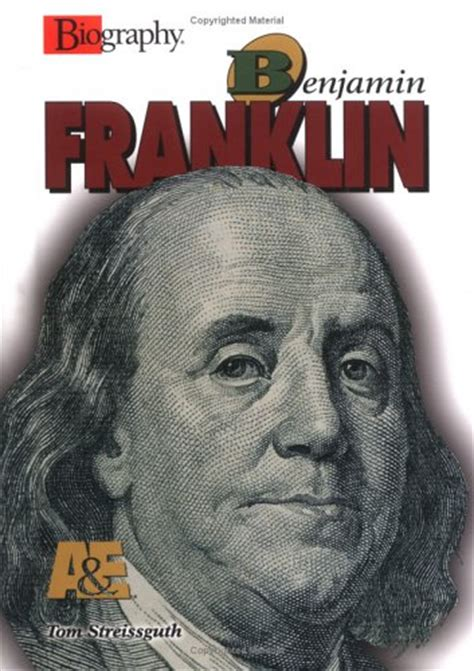 benjamin franklin childhood biography benjamin franklin by thomas streissguth reviews