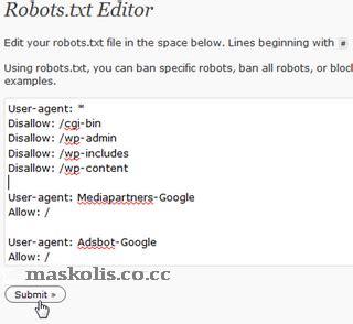 cara membuat robot txt wordpress auwibi blog