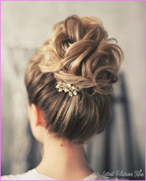 wedding hair bun updos wedding hairstyles updo latestfashiontips