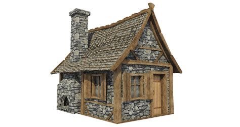 sketchup layout transparent medieval hut a 3 png by fumar porros on deviantart