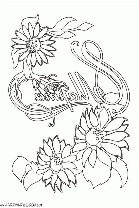 60 im 225 genes de flores para colorear dibujos colorear dibujos para colorear flores 110 im genes imgenes de