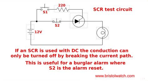 how to test thyristor diode modules scr diode test 28 images transistor triac and scr