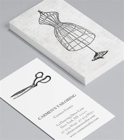 fashion business card template get me to the business cards for fashion designers