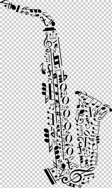 Saxofon nota musical musica clasica, letra saxofon PNG