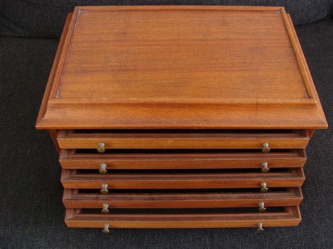 Coin Drawers by Accessories Wooden Coin Cabinet With Drawers Quot Rembrandt