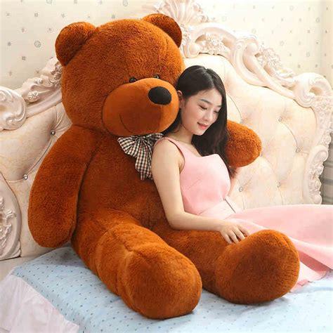 big stuffed teddy 160cm large big stuffed toys animals plush size kid children