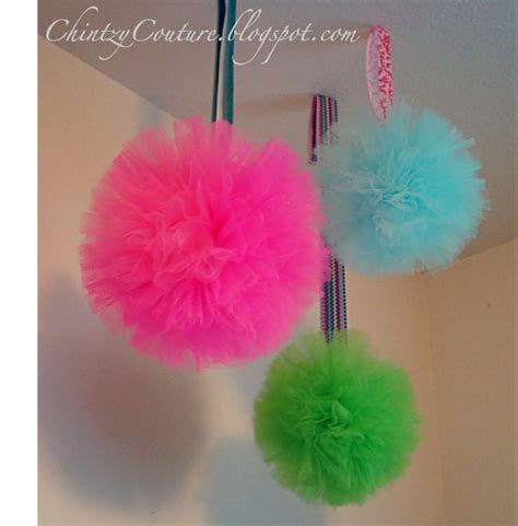 How To Make Ceiling Pom Poms by Tulle Pom Pom Tutorial It S Time To