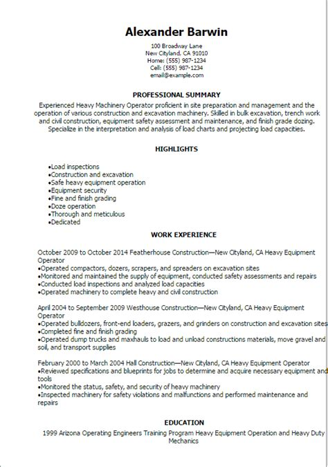 Sle Resume Heavy Equipment Operator by Sle Resume Machine Operator 28 Images Nail Resume Sales Lewesmr 100 Machine Operator Resume