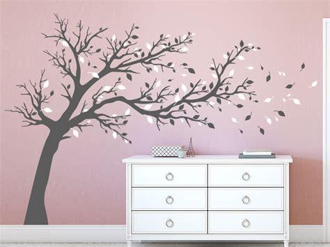 Wandtattoo Kinderzimmer Grau by Wandtattoo Gro 223 Er Baum Zweifarbig Wandtattoo De